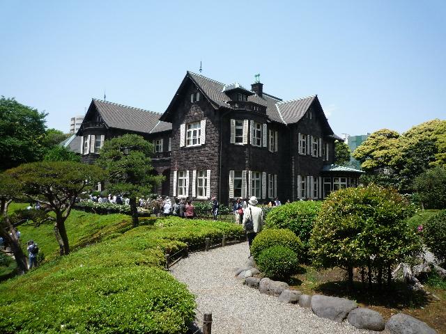旧古河庭園 邸宅3