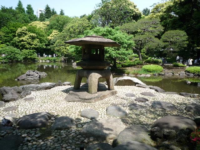 旧古河庭園 庭園2