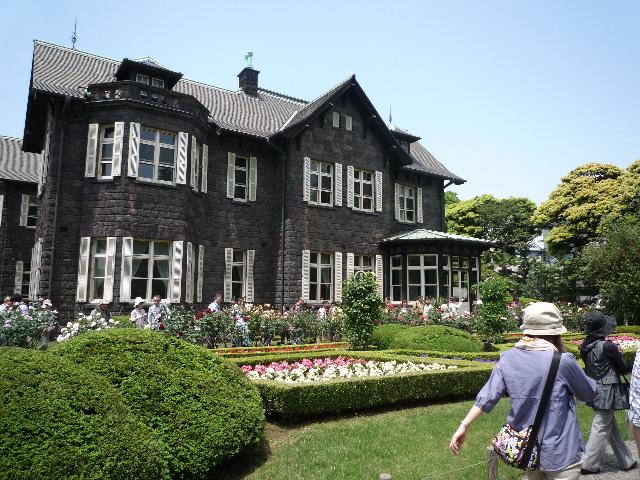 旧古河庭園 庭園1