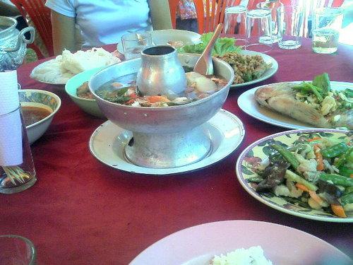 タイの結婚式料理